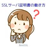 SSLサーバ証明書、どういう風に動いているの?